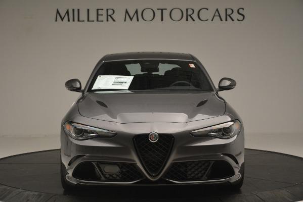 New 2019 Alfa Romeo Giulia Quadrifoglio for sale $79,340 at Bugatti of Greenwich in Greenwich CT 06830 12