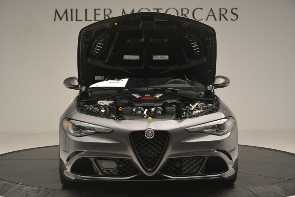 New 2019 Alfa Romeo Giulia Quadrifoglio for sale $79,340 at Bugatti of Greenwich in Greenwich CT 06830 13