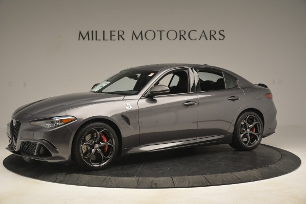 New 2019 Alfa Romeo Giulia Quadrifoglio for sale $79,340 at Bugatti of Greenwich in Greenwich CT 06830 2