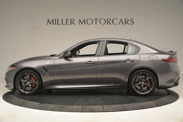 New 2019 Alfa Romeo Giulia Quadrifoglio for sale $79,340 at Bugatti of Greenwich in Greenwich CT 06830 3