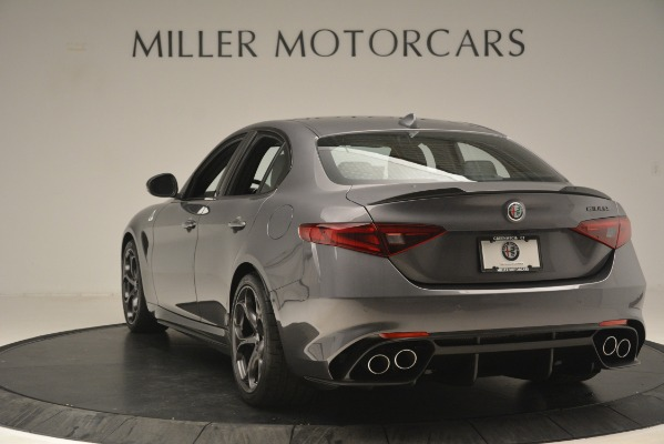 New 2019 Alfa Romeo Giulia Quadrifoglio for sale $79,340 at Bugatti of Greenwich in Greenwich CT 06830 5