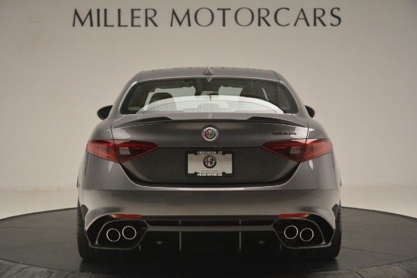 New 2019 Alfa Romeo Giulia Quadrifoglio for sale $79,340 at Bugatti of Greenwich in Greenwich CT 06830 6