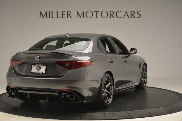 New 2019 Alfa Romeo Giulia Quadrifoglio for sale $79,340 at Bugatti of Greenwich in Greenwich CT 06830 7