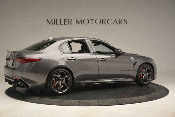 New 2019 Alfa Romeo Giulia Quadrifoglio for sale $79,340 at Bugatti of Greenwich in Greenwich CT 06830 8