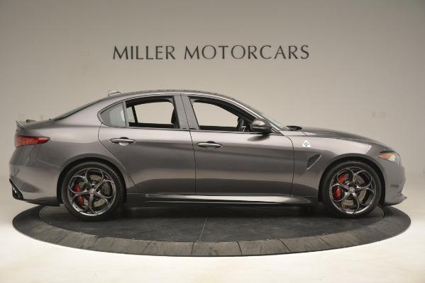 New 2019 Alfa Romeo Giulia Quadrifoglio for sale $79,340 at Bugatti of Greenwich in Greenwich CT 06830 9