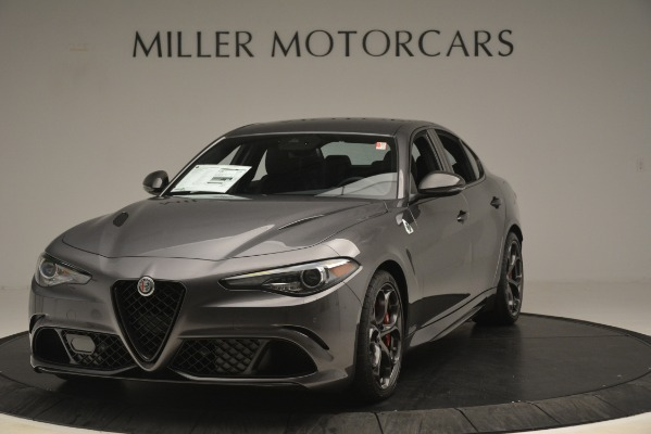 New 2019 Alfa Romeo Giulia Quadrifoglio for sale $79,340 at Bugatti of Greenwich in Greenwich CT 06830 1