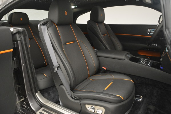 Used 2018 Rolls-Royce Wraith for sale Sold at Bugatti of Greenwich in Greenwich CT 06830 14