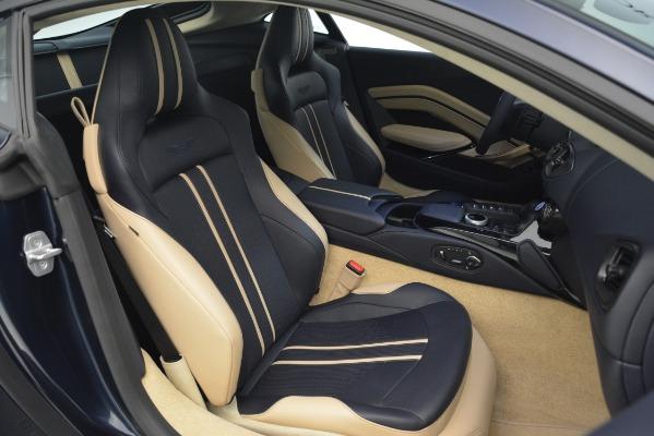 New 2019 Aston Martin Vantage V8 for sale Sold at Bugatti of Greenwich in Greenwich CT 06830 20