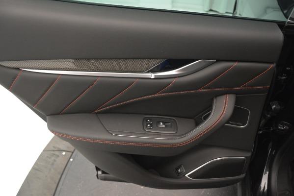 New 2019 Maserati Levante SQ4 GranSport Nerissimo for sale Sold at Bugatti of Greenwich in Greenwich CT 06830 21