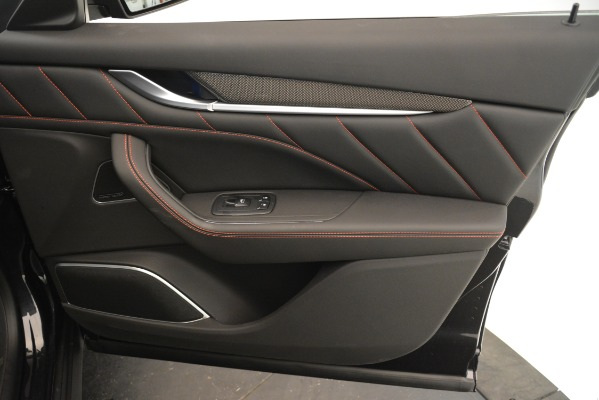 New 2019 Maserati Levante SQ4 GranSport Nerissimo for sale Sold at Bugatti of Greenwich in Greenwich CT 06830 25