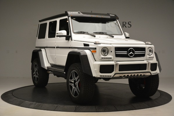 Used 2018 Mercedes-Benz G-Class G 550 4x4 Squared for sale Sold at Bugatti of Greenwich in Greenwich CT 06830 11