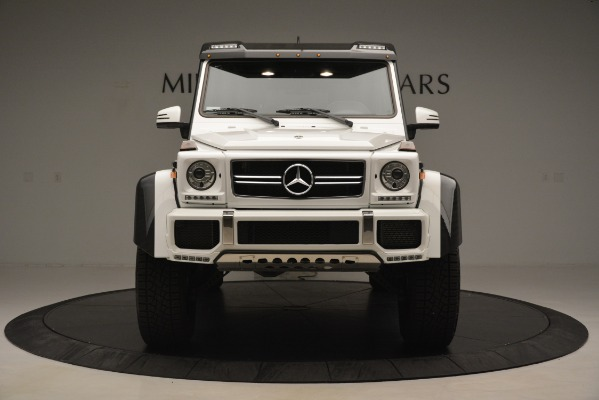 Used 2018 Mercedes-Benz G-Class G 550 4x4 Squared for sale Sold at Bugatti of Greenwich in Greenwich CT 06830 12