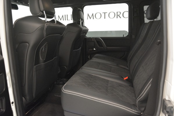 Used 2018 Mercedes-Benz G-Class G 550 4x4 Squared for sale Sold at Bugatti of Greenwich in Greenwich CT 06830 17