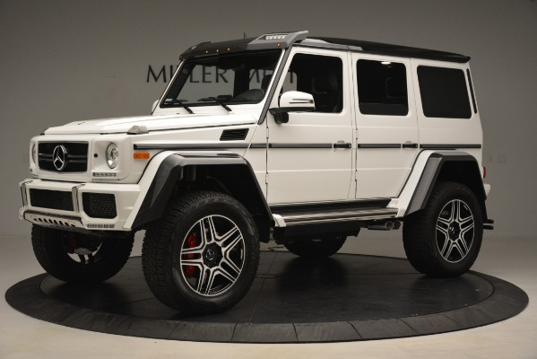 Used 2018 Mercedes-Benz G-Class G 550 4x4 Squared for sale Sold at Bugatti of Greenwich in Greenwich CT 06830 2