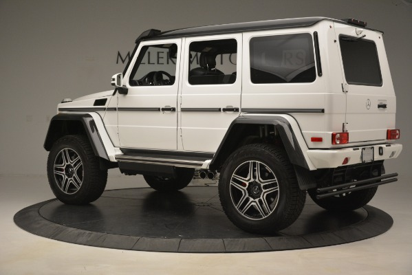 Used 2018 Mercedes-Benz G-Class G 550 4x4 Squared for sale Sold at Bugatti of Greenwich in Greenwich CT 06830 4