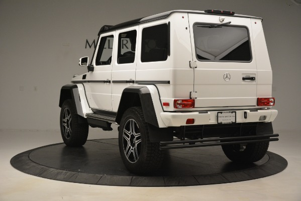 Used 2018 Mercedes-Benz G-Class G 550 4x4 Squared for sale Sold at Bugatti of Greenwich in Greenwich CT 06830 5