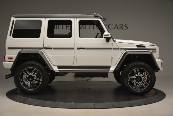Used 2018 Mercedes-Benz G-Class G 550 4x4 Squared for sale Sold at Bugatti of Greenwich in Greenwich CT 06830 9
