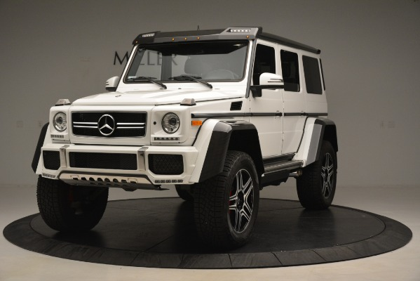Used 2018 Mercedes-Benz G-Class G 550 4x4 Squared for sale Sold at Bugatti of Greenwich in Greenwich CT 06830 1