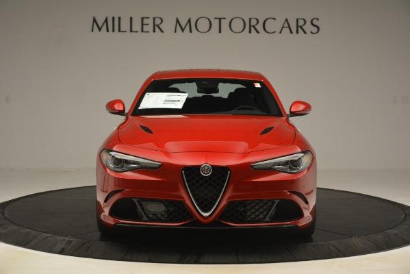 New 2019 Alfa Romeo Giulia Quadrifoglio for sale Sold at Bugatti of Greenwich in Greenwich CT 06830 12