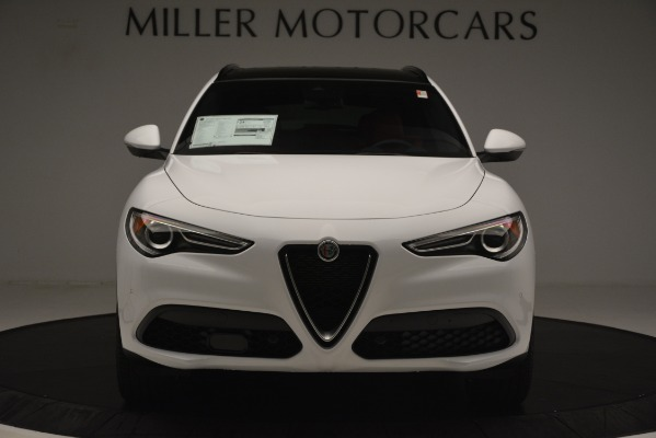New 2019 Alfa Romeo Stelvio Ti Sport Q4 for sale Sold at Bugatti of Greenwich in Greenwich CT 06830 12