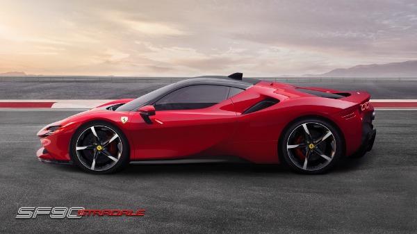 New 2021 Ferrari SF90 Stradale for sale Call for price at Bugatti of Greenwich in Greenwich CT 06830 3