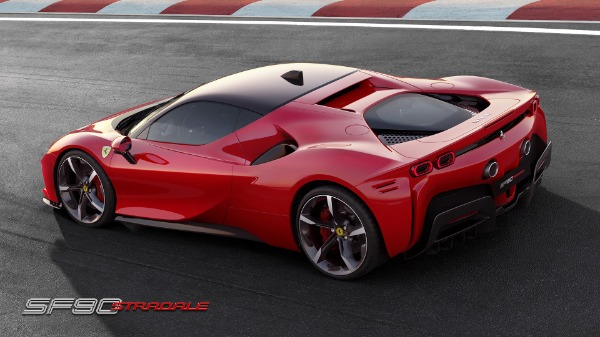 New 2020 Ferrari SF90 Stradale for sale Call for price at Bugatti of Greenwich in Greenwich CT 06830 4