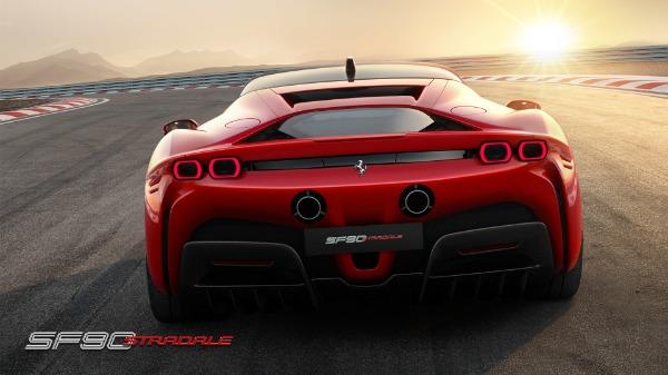 New 2021 Ferrari SF90 Stradale for sale Call for price at Bugatti of Greenwich in Greenwich CT 06830 5