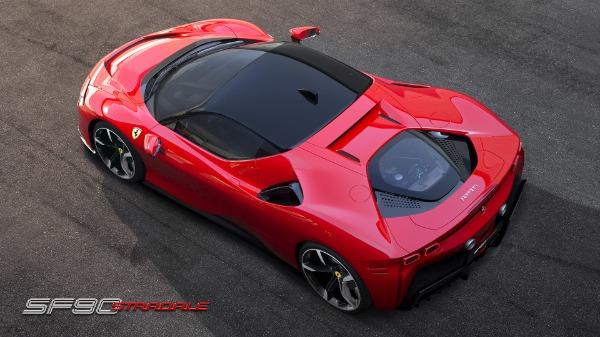 New 2020 Ferrari SF90 Stradale for sale Call for price at Bugatti of Greenwich in Greenwich CT 06830 6