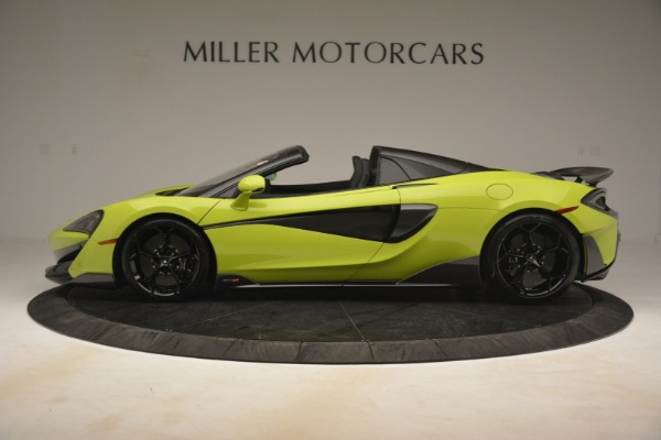 New 2020 McLaren 600LT SPIDER Convertible for sale $281,570 at Bugatti of Greenwich in Greenwich CT 06830 10