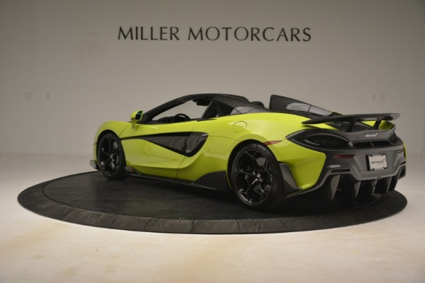 New 2020 McLaren 600LT Spider for sale $281,570 at Bugatti of Greenwich in Greenwich CT 06830 11
