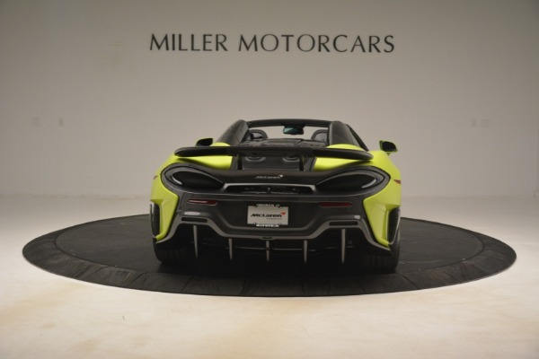 New 2020 McLaren 600LT Spider for sale $281,570 at Bugatti of Greenwich in Greenwich CT 06830 12