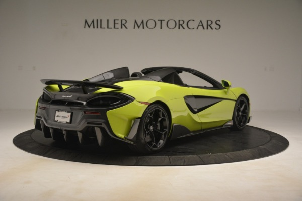 New 2020 McLaren 600LT SPIDER Convertible for sale $281,570 at Bugatti of Greenwich in Greenwich CT 06830 13