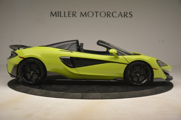 New 2020 McLaren 600LT Spider for sale $281,570 at Bugatti of Greenwich in Greenwich CT 06830 14