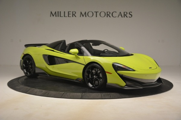 New 2020 McLaren 600LT Spider for sale $281,570 at Bugatti of Greenwich in Greenwich CT 06830 15