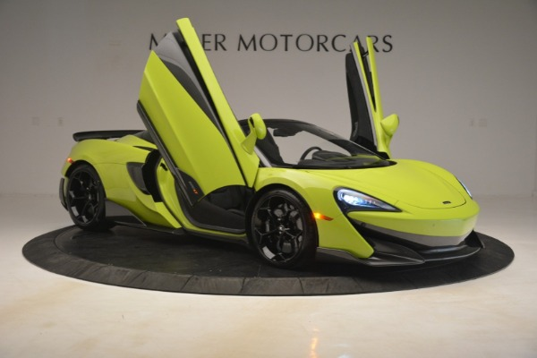 New 2020 McLaren 600LT SPIDER Convertible for sale $281,570 at Bugatti of Greenwich in Greenwich CT 06830 16