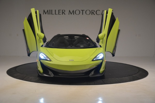 New 2020 McLaren 600LT SPIDER Convertible for sale $281,570 at Bugatti of Greenwich in Greenwich CT 06830 17