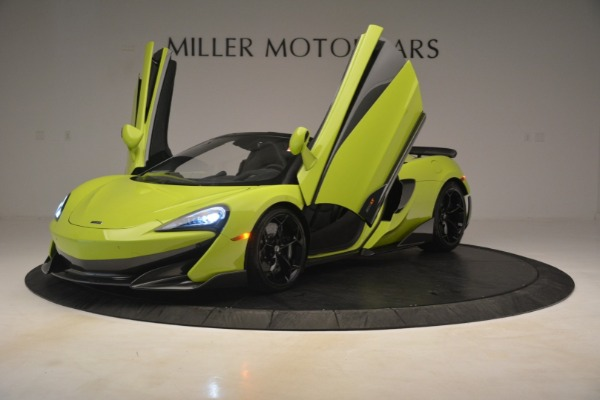 New 2020 McLaren 600LT SPIDER Convertible for sale $281,570 at Bugatti of Greenwich in Greenwich CT 06830 18