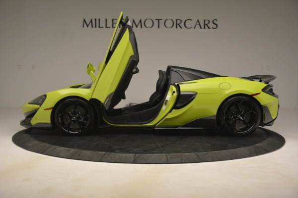 New 2020 McLaren 600LT Spider for sale $281,570 at Bugatti of Greenwich in Greenwich CT 06830 19