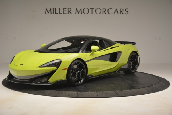 New 2020 McLaren 600LT SPIDER Convertible for sale $281,570 at Bugatti of Greenwich in Greenwich CT 06830 2