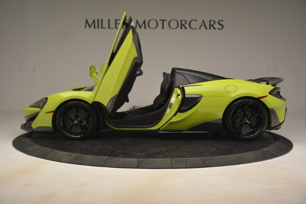 New 2020 McLaren 600LT Spider for sale $281,570 at Bugatti of Greenwich in Greenwich CT 06830 20