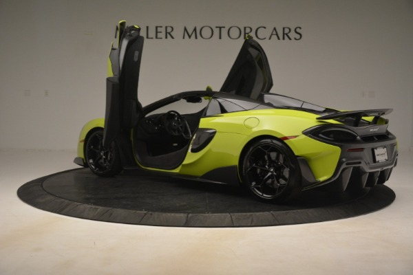 New 2020 McLaren 600LT Spider for sale $281,570 at Bugatti of Greenwich in Greenwich CT 06830 21