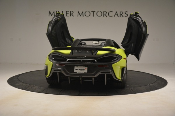 New 2020 McLaren 600LT Spider for sale $281,570 at Bugatti of Greenwich in Greenwich CT 06830 22