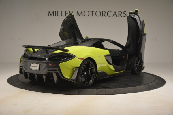 New 2020 McLaren 600LT SPIDER Convertible for sale $281,570 at Bugatti of Greenwich in Greenwich CT 06830 23