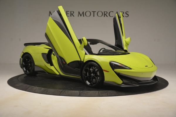 New 2020 McLaren 600LT SPIDER Convertible for sale $281,570 at Bugatti of Greenwich in Greenwich CT 06830 25
