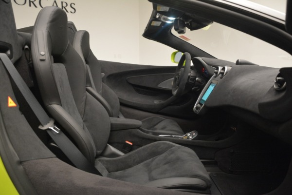 New 2020 McLaren 600LT Spider for sale $281,570 at Bugatti of Greenwich in Greenwich CT 06830 28