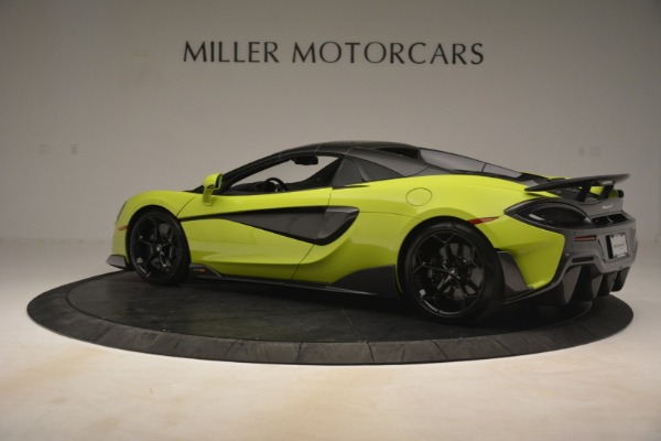 New 2020 McLaren 600LT Spider for sale $281,570 at Bugatti of Greenwich in Greenwich CT 06830 4