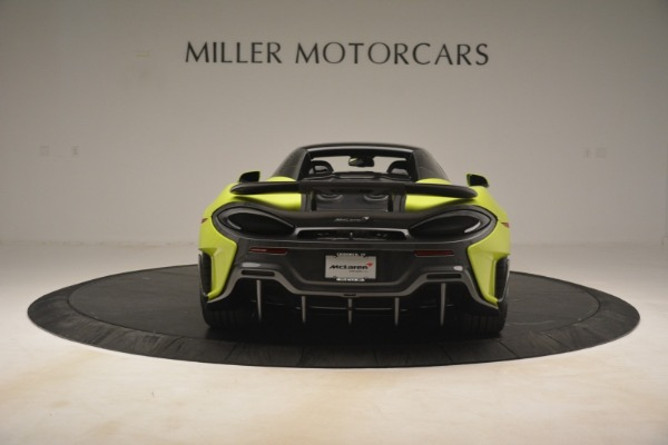 New 2020 McLaren 600LT Spider for sale $281,570 at Bugatti of Greenwich in Greenwich CT 06830 5