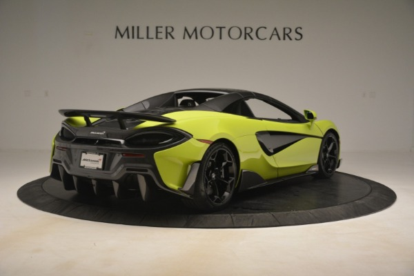 New 2020 McLaren 600LT Spider for sale $281,570 at Bugatti of Greenwich in Greenwich CT 06830 6