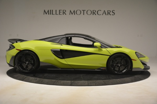 New 2020 McLaren 600LT Spider for sale $281,570 at Bugatti of Greenwich in Greenwich CT 06830 7