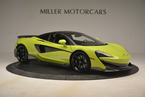 New 2020 McLaren 600LT SPIDER Convertible for sale $281,570 at Bugatti of Greenwich in Greenwich CT 06830 8